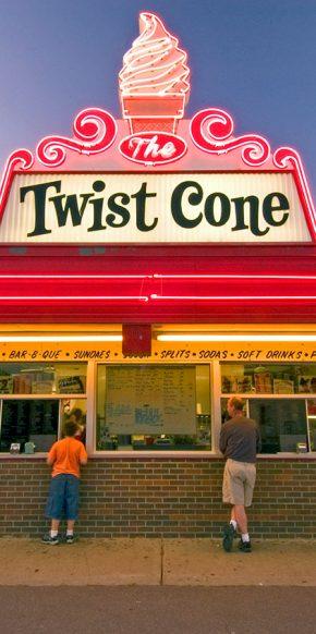 Twist Cone Ice Cream Restaurant