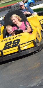 People in Go karts - Thunder Road Aberdeen