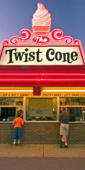 Twist Cone Ice Cream Restaurant