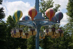 Storybook land balloon ride