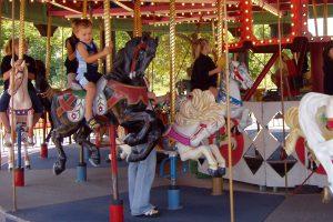 Storybook land carousel