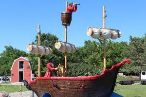 Storybook land pirate ship